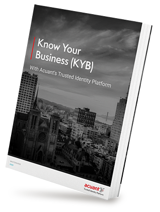 AI-Powered solutions for Know Your Business (KYB) to efficiently onboard businesses, reduce risk & stay ahead of regulations.
